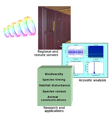 High-level view of data processing and analysis